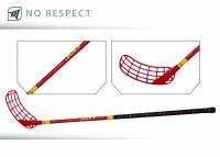 Florbalová hokejka MPS NO RESPECT Red - výpredaj bd931cc453