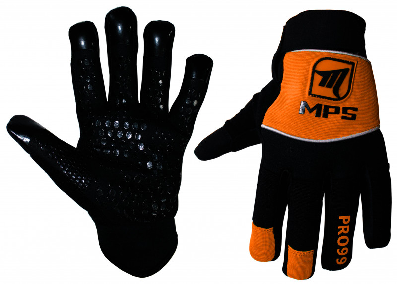 3b0e8ac9778b MPS brankárske florbalové nohavice Orange. Florbalové rukavice MPS - FBO
